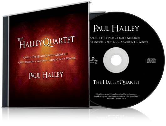 Paul Halley B 1972 The Halley Quartet