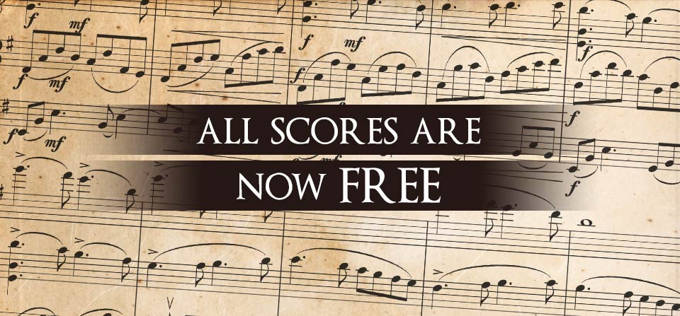 All Scores Are Now Free